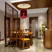 传统型餐厅装修设计