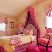 粉色调小卧室设计
