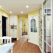 两室两厅木地板装修