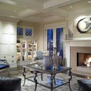 别墅客厅设计图片欣赏