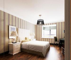 暖色调卧室壁纸装修