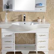 独具特色浴室柜效果图