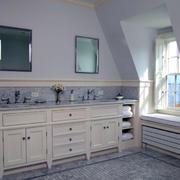 豪华型浴室柜效果图