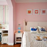 粉色调公寓设计图片