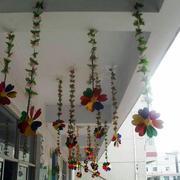 幼儿园走廊吊饰图片