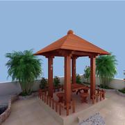 木质凉亭装修设计