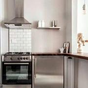 公寓厨房设计图片欣赏