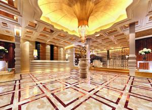 2015金碧辉煌的酒店大堂效果图