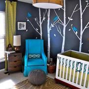 儿童房背景墙欣赏