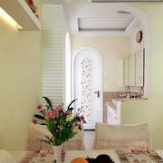 自然风格两室一厅装修