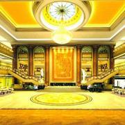 金碧辉煌酒店大厅设计