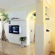 两室一厅玄关装修图片