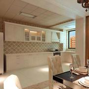 温馨型厨房装修设计