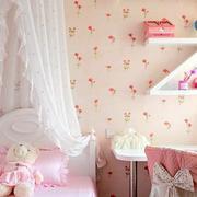 粉色调两室一厅装修