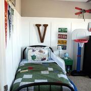 宜家风格儿童房床装修