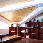 传统型斜顶阁楼装修