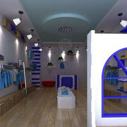 清新型童装店设计