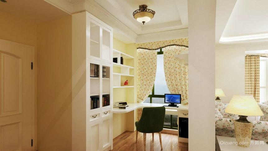 专为看书人士设计的小书房装修效果图