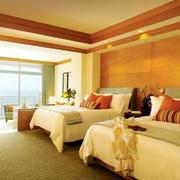 暖色调宾馆设计图片