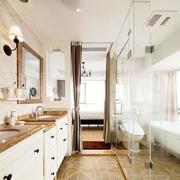 自然型小卫生间装修