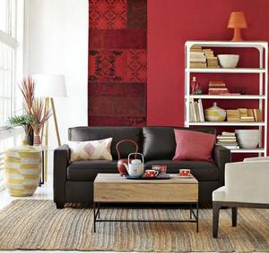 2015高品质、高质量实木沙发背景墙装修效果图大全