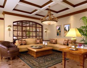 110平米经典雅致的现代流行室内设计效果图大全