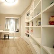 小书房木地板效果图