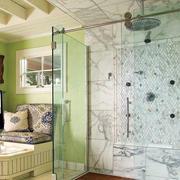 卫生间玻璃隔断设计