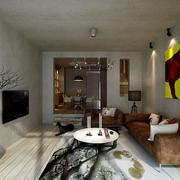 两层别墅背景墙设计
