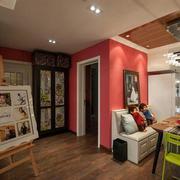 唯美型型三室一厅装修