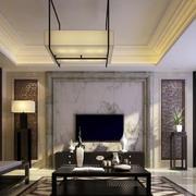 怡情型中式客厅装修