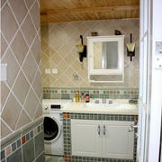 现代创意浴室柜效果图