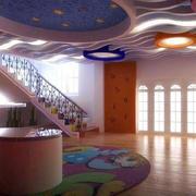 幼儿园木地板设计