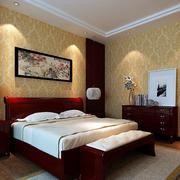 古典系列卧室壁纸装修