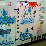 清新型幼儿园墙壁