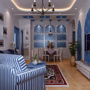 地中海客厅设计大全