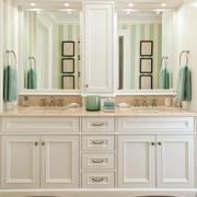 大气风格浴室柜效果图
