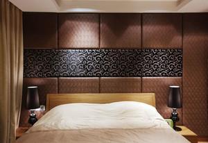2015时尚经典的都市卧室软包背景墙装修效果图鉴赏