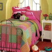 唯美儿童房床装修