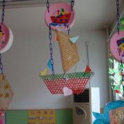 简洁大方幼儿园吊饰