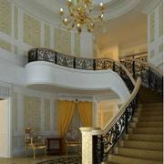 欧式风格楼梯装修图片