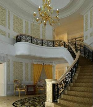 2015自然美旋转楼梯装修效果图