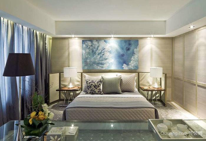省钱好妙招 时尚卧室现代装饰画装修效果图