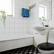 复式楼浴室装修图片