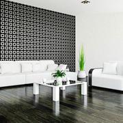 白色调盆栽设计图片