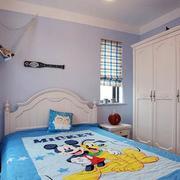 温馨色调儿童房装修