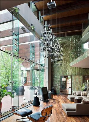 150平米时尚法式带有酒窖的公寓装修效果图
