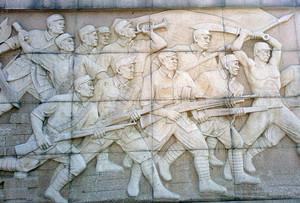 栩栩如生的精美历史古迹浮雕壁画设计效果图鉴赏