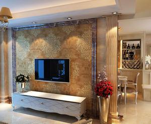 整洁养眼 美妙无比的客厅石材背景墙设计效果图鉴赏