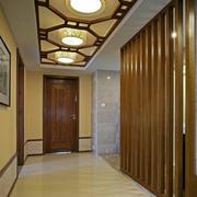 欧式风格走廊吊顶装修